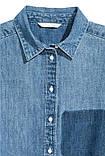 Рубашка женская джинсовая h&m, фото 2
