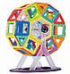 """Магнитный 3D конструктор """"Конструкторское бюро"""" на 92 дет, Limo Toy LT4001, фото 3"""