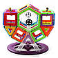 """Магнитный 3D конструктор """"Конструкторское бюро"""" на 92 дет, Limo Toy LT4001, фото 5"""