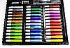 Художественный набор для творчества 150 предметов детский в удобном чемодане + подарок раскраска, фото 6