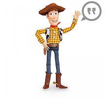 Говорящий ковбой Вуди История игрушек Дисней Woody Talking Figure шериф