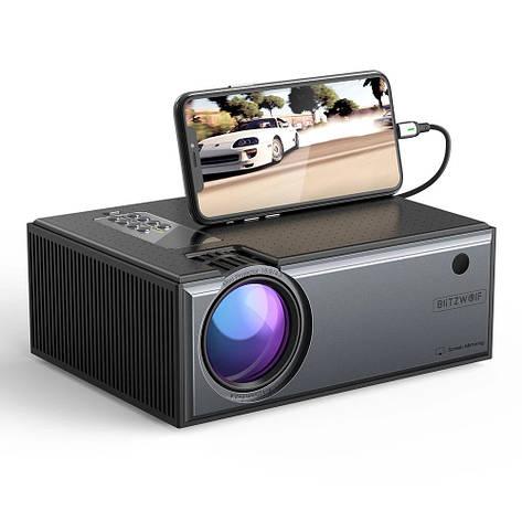 Проектор BlitzWolf BW-VP1 Pro black. HD, фото 2