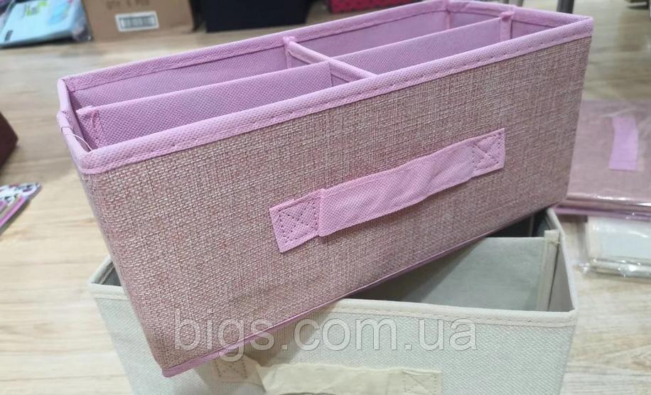 Ящик для білизни на 4 секції 31*14*13 див.