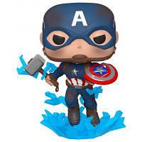 Фигурка Funko Pop cерии Мстители: Финал Капитан Америка с Мьёльниром (45137)