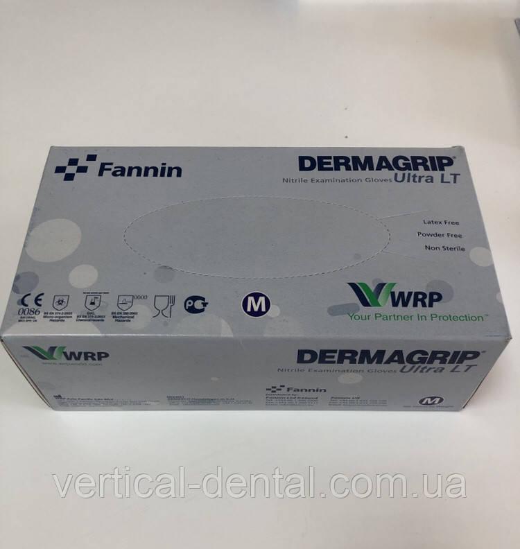 Перчатки нитриловые  Dermagrip Ultra LT 200шт размер М