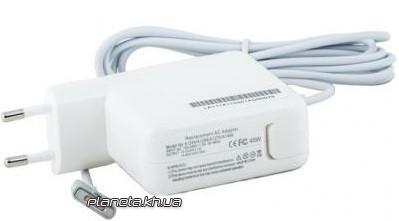 Блок питания PowerPlant для ноутбука APPLE 220V, 45W, 14.85V 3.05A (MagSafe 2)