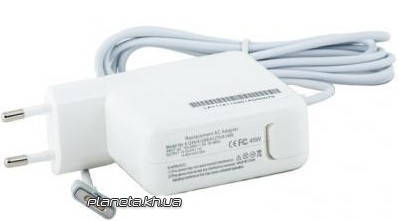 Блок питания PowerPlant для ноутбука APPLE 220V, 45W, 14.85V 3.05A (MagSafe 2), фото 2