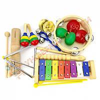 Малый комплект детских музыкальных инструментов