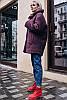 Утепленное пальто Мишель букле 48-60рр, фото 5
