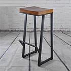 Барные металлические стулья для кафе, фото 2