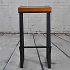 Барные металлические стулья для кафе, фото 6