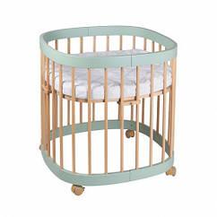 Кроватка 7в1 Tweeto мятный бук