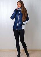 Зимняя курточка  с трикотажным манжетом