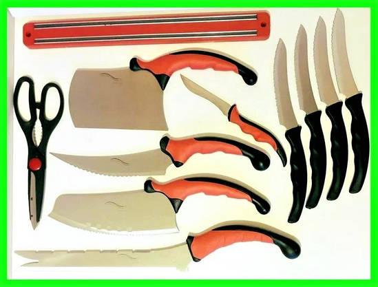 Набор Кухонных Ножей из 11 Предметов, фото 3