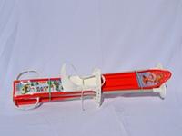 Набор лыжный детский 60 см. (лыжи пластиковые + палки алюминий)