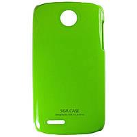 Чехол SGP Colored Plastic для Lenovo A690 Green