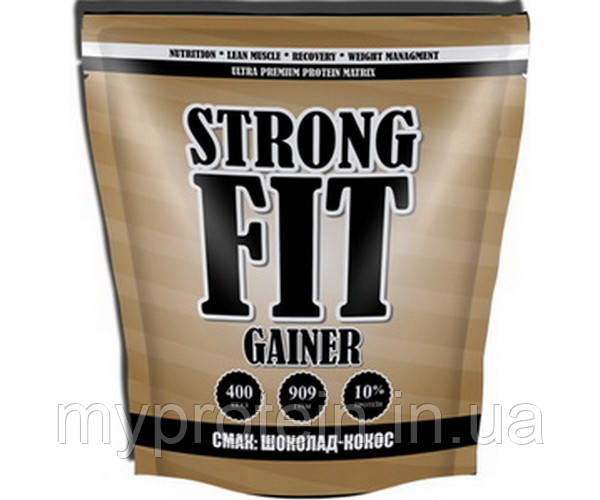 Strong FIT Гейнер Gainer 10% protein (909 g )