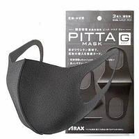 Маска защитная пита черная Pitta Mask (уп-3 шт)
