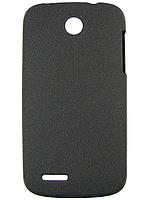 Чехол Matte Colored Plastic для Lenovo A690 Black