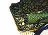 Качель садовая Spring-Swing Barokko Green-Gold, фото 3