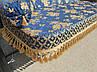 Качель садовая Spring-Swing Barokko Blue-Gold, фото 3