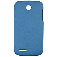Чехол Matte Colored Plastic для Lenovo A690 Blue