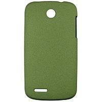 Чехол Matte Colored Plastic для Lenovo A690 Green