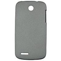 Чехол Matte Colored Plastic для Lenovo A690 Grey