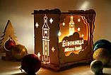 Подарочный светильник  с приятным теплым цветом создающий уют и покой  19*19 см, фото 3