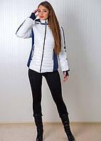 Зимняя женская куртка на синтепоне с трикотажным манжетом