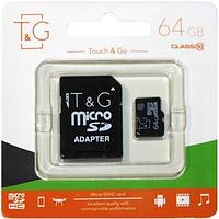 Карта памяти MicroSD 64Gb Touch&Go