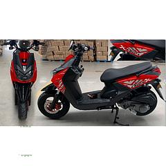 Скутер FORTE BWS-R 150CC красный