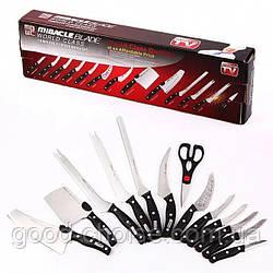 Набор кухонных ножей + Подарок / Miracle Blade 13 в 1