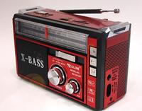 Радиоприемник GOLON RX-382 с MP3, USB + фонарик, фото 1