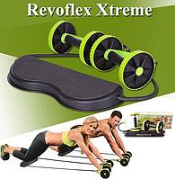 Тренажер Revoflex Xtreme для всего тела! 40 упражнений! Роликовый тренажер, фото 1