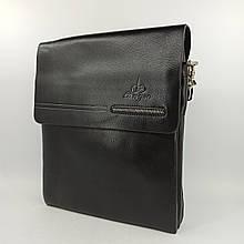 Шкіряна чоловіча сумка через плече / Мужская кожаная сумка через плечо Polo 332-2