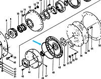 Кольцо 402236  (под крышку ГТР 402203)