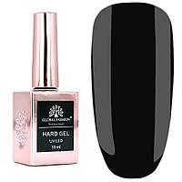Гель для наращивания и укрепления ногтей Global Fashion Hard Gel № 12