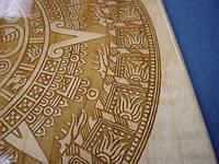 Лазерная гравировка на древесных материалах