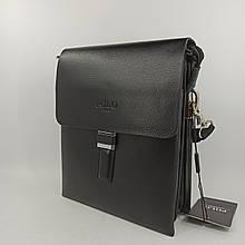 Шкіряна чоловіча сумка через плече / Мужская кожаная сумка через плечо Polo B368-2