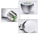 Лампочка LED 9 Вт 12-85 Вольт AC/DC Е-27, фото 2