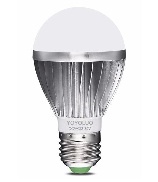 Лампочка LED 9 Вт 12-85 Вольт AC/DC Е-27