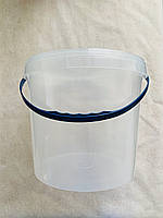 Ведро пищевое пластиковое с крышкой 10 литров, фото 1