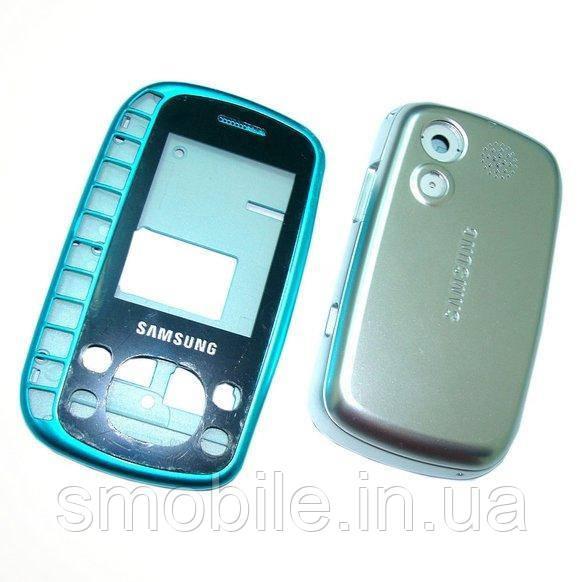 Samsung Корпус Samsung B3310 синий с серебристым