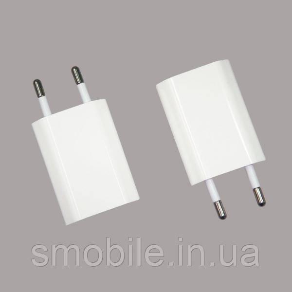 Apple Сетевое зарядное устройство (USB адаптер) iPhone белое (копия AAA)