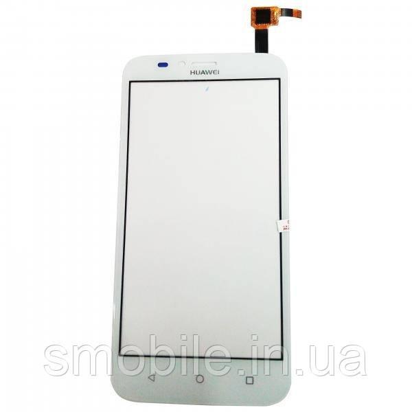 Huawei Сенсорный экран Huawei Ascend Y625 белый (копия AAA)