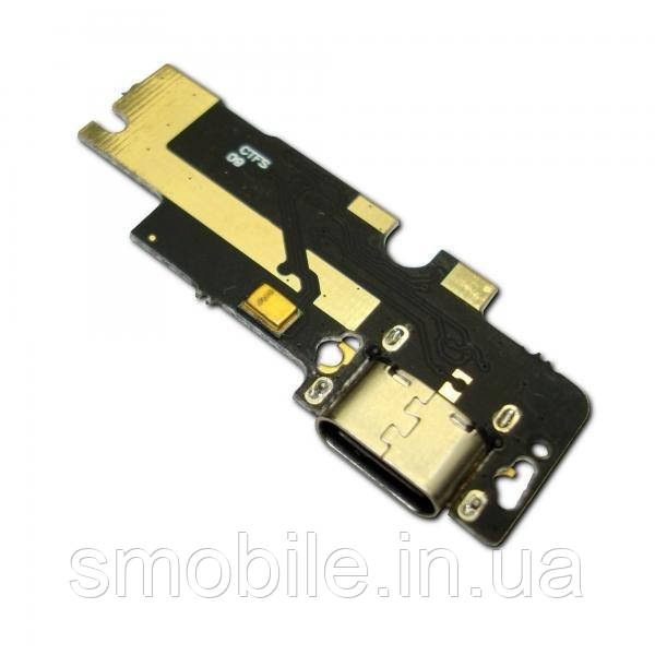 Xiaomi Разъем зарядки Xiaomi Mi4C на плате с микрофоном и компонентами (копия)