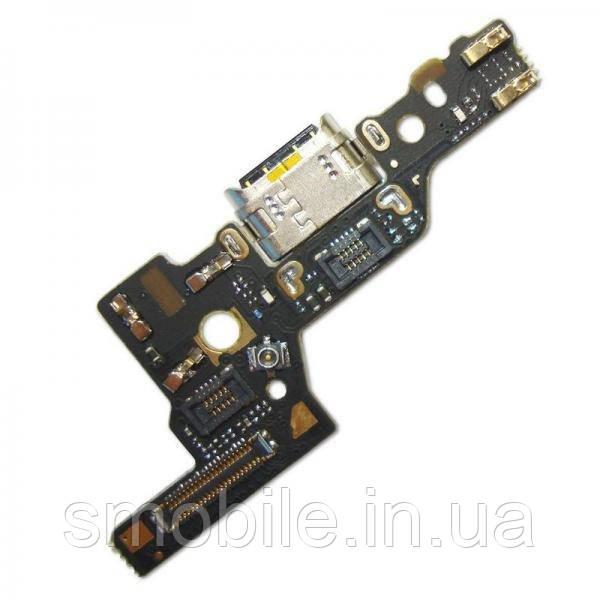 Huawei Разъем зарядки Huawei P9 на плате с микрофоном и компонентами (копия AAA)
