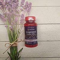 Puritan's pride Grapeseed Extract 200 mg 120 caps , экстракт виноградных косточек