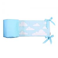 Cotton living - Защита в кроватку Blue Clouds